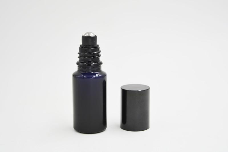 10ml dark violet bottle